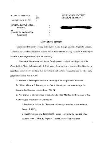 Packet 18B- Motion & Order to Set Aside Dismissal - State of Oregon