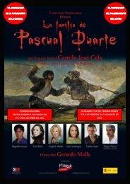 Dossier Pascual Duarte - Publiescena