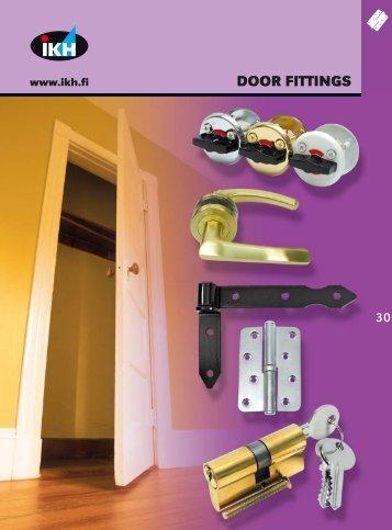 IKH Tools 2007, 30. Door fittings