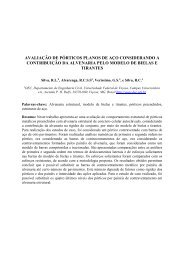 Cilamce 2011 PAP007445.pdf - Departamento de Engenharia Civil