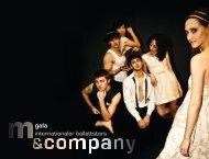 M&CO Program2009.indd - M & Company
