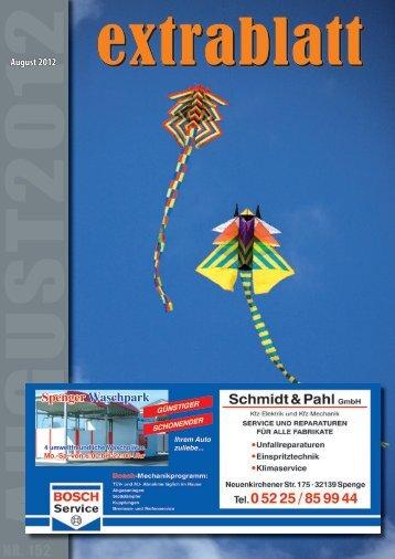 Ausgabe August 2012 - Extrablatt