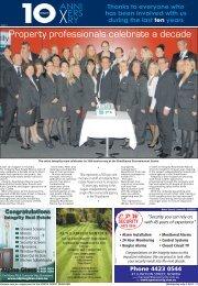 Property professionals celebrate a decade