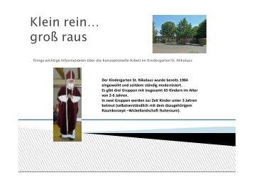 Weitere Informationen erhalten Sie über unsere Präsentation - Start ...