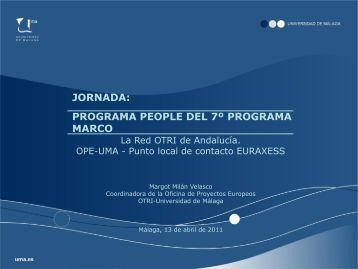 Diapositiva 1 - Euroblog - Universidad de Málaga