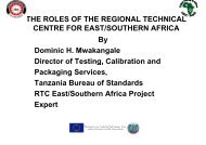 THE ROLES OF THE REGIONAL TECHNICAL CENTRE ... - CSITC.org