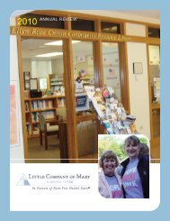 final:LCOM Cancer Center Brochure.qxd - Little Company of Mary ...