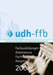 udh - Union Deutscher Heilpraktiker