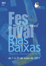Festibaixas. Festival Internacional Rías Baixas - Publiescena