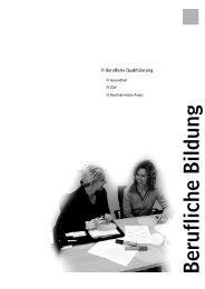 Introseite Berufliche Bildung - VHS Hannover