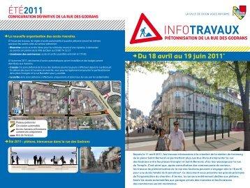 INFOTRAVAUX - Le Tram
