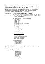 Protokoll vom 16.01.2012 - Start - Katholisch in Steinfurt