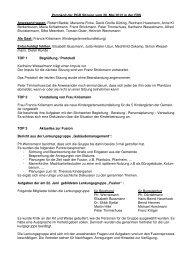 Protokoll vom 26.06.2012 - Katholisch in Steinfurt