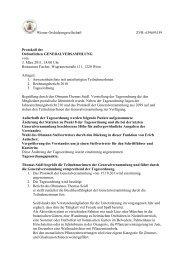 Protokoll der GV 3.3.2011 - Wiener Orchideengesellschaft