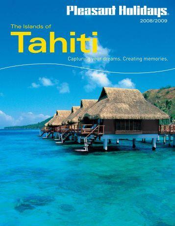 Harvey World Travel Fiji Brochure