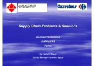 Supply Chain Problems & Solutions - Young-Train