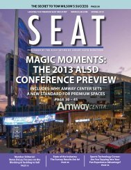MAGIC MOMENTS: THE 2013 ALSD CONFERENCE PREVIEW