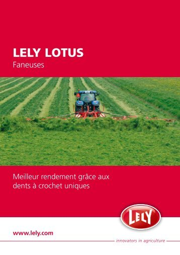 LELY LOTUS - Avenir Motoculture