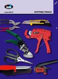 IKH, Tools 2007, 6. Cutting tools