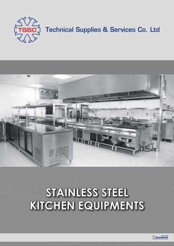 stainless steel kitchen equipments - Harwal Group of Companies