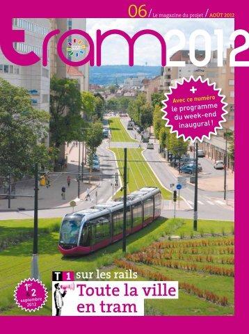 Toute la ville en tram - Le Tram