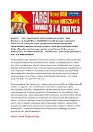 W dniach 3 i 4 marca na warszawskim Torwarze ... - Trader.pl