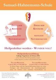 WUNDER VOLL! TAG DER KRANICHE - Samuel-Hahnemann-Schule