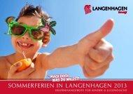 Sommerferienprogramm 2013 - Stadt Langenhagen