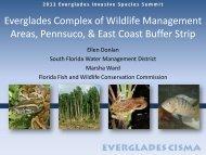 Water Conservation Areas - Everglades Cooperative Invasive ...