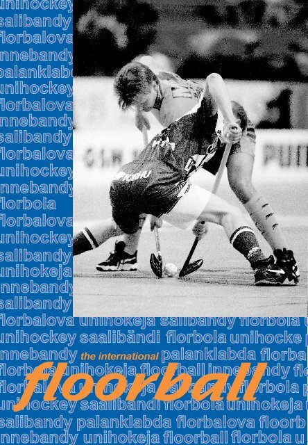IFF International Floorball Brochure - Floorball Ontario