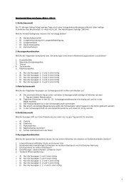 1 Heilpraktikerprüfung März 2012 - Die Grüne Schule