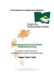 Magen- Darm- Trakt - Private Fernakademie der Deutschen ...