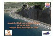 Nouvelle Route du Littoral - Région Réunion