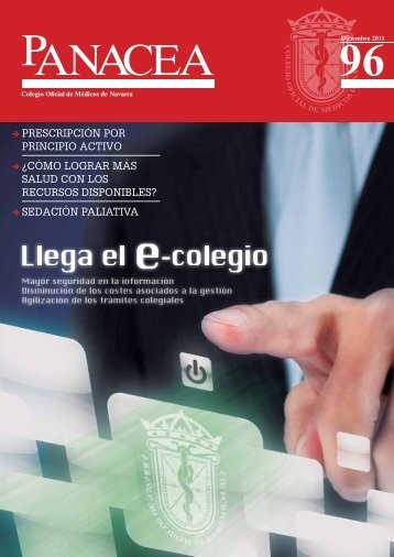 Descargar revista número 96 - Colegio oficial de Medicos de Navarra