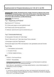Protokoll vom 15.06.2011 - Start - Katholisch in Steinfurt