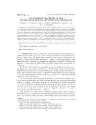 Nelder-Mead Simplex algorithm reference