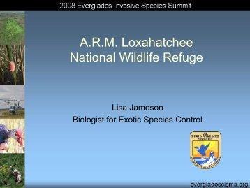 A.R.M. Loxahatchee National Wildlife Refuge - Everglades ...