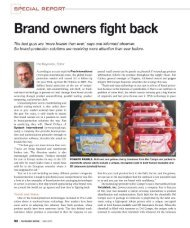 Brand owners fight back