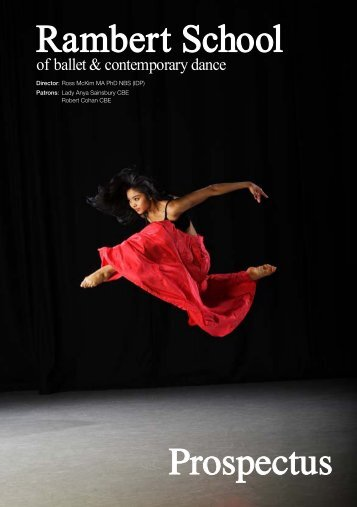 Download as a PDF - Conservatoire for Dance and Drama
