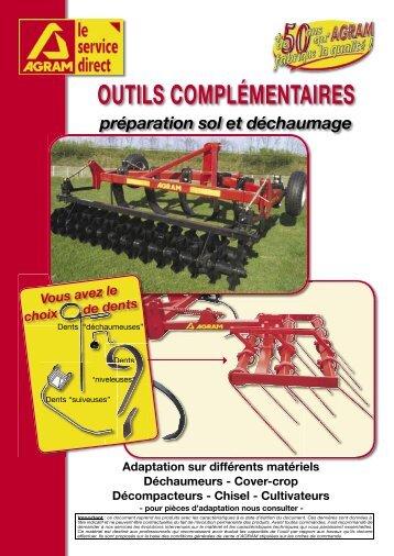 OUTILS COMPLÉMENTAIRES - Agram