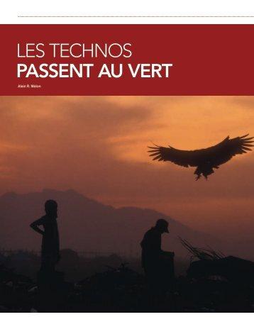 LeS TechnoS PASSENT AU VERT - Market