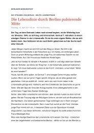 Die Lebenslinie durch Berlins pulsierende Mitte - LIVING BAUHAUS ...