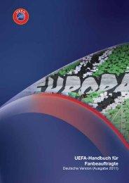 UEFA-Handbuch für Fanbeauftragte – Ausgabe 2011 - UEFA.org