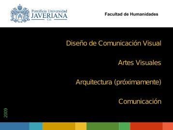 Carrera Diseño de Comunicación Visual
