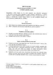 vyhláška č. 2/2012 o místním poplatku ze psů