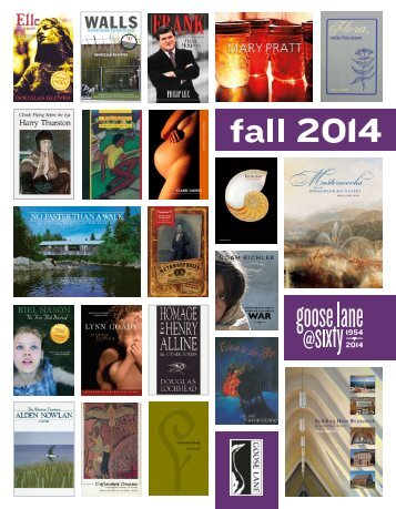 fall 2013 - Goose Lane Editions