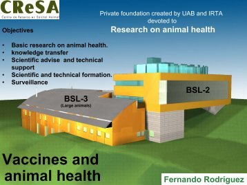 Animal Health: vaccines - Young-Train