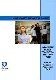 Calvary Health Care Tasmania Lenah Valley Campus