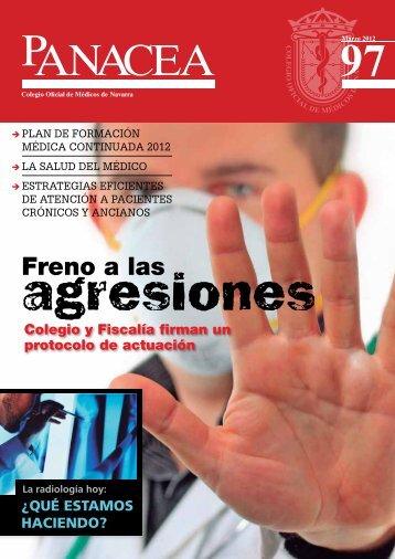 Descargar revista número 97 - Colegio oficial de Medicos de Navarra