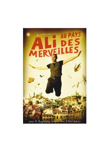 Dossier PDF (1.3Mo) : Ali au Pays des Merveilles - L'Eclat